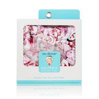 Fragrancenet Spa Sister Bouffant Shower Cap Belleze Pink Floral Print