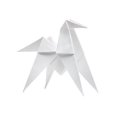HERMÈS À Cheval! Perfumed Paper Origami Horse - No Color