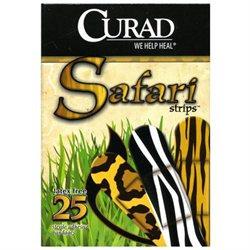 Curad Safari Bandages 25 Count