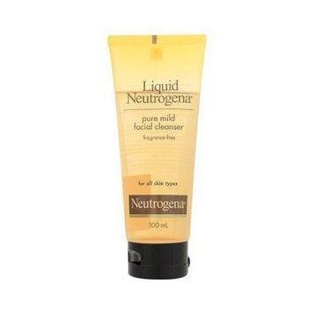Neutreogena Liquid Pure Mild Facial Cleanser Fragrance-Free For All Skin Types 100ml
