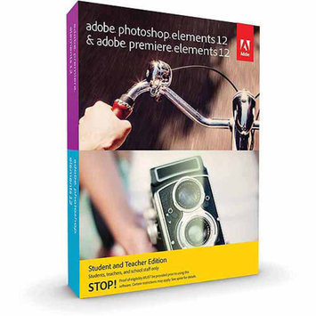 Adobe Photoshop Elements 12 and Premiere Elements 12 Student/Teacher Edition (Academic verification is required by publisher after purchase) (PC) (Digital Code)