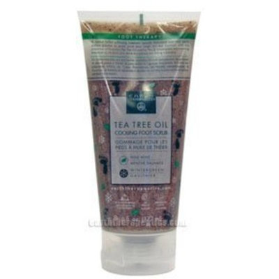 Earth Therapeutics Tea Tree Oil Cooling Foot Scrub 6 fl. oz.