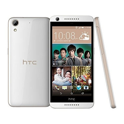 HTC Desire 626 (D626x) LTE Factory Unlocked International Stock No Warranty (16GB | White Birch) - International Version No Warranty