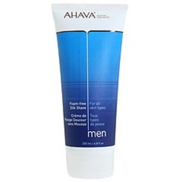 AHAVA Foam-Free Silk Shave Cream for Men, 6.8 fl. oz.