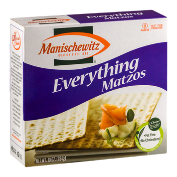Manischewitz Everything Matzos