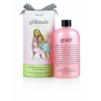Philosophy with Gratitude Amazing Grace Perfumed Shampoo, Bath & Shower Gel, 16-Ounce