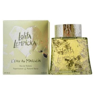 Men's L'Eau Au Masculin by Lolita Lempicka Eau de Toilette Spray - 3.