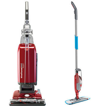 Hoover WindTunnel MAX Bagged Upright with Your Choice of Bonus Stick/Handheld Vac