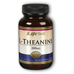 Lifetime L-Theanine - 200 mg - 30 Vegetarian Capsules
