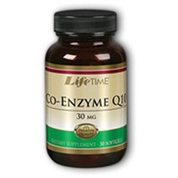 Lifetime Co-Enzyme Q10 - 30 mg - 30 Softgels