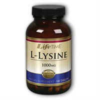 L-Lysine 1000 mg, 100 Tablets, LifeTime