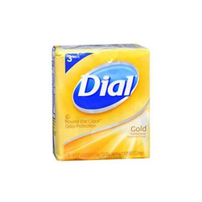 Dial Soap Gold Bar 4 oz 3 Pack