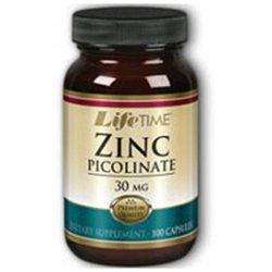 Lifetime Zinc Picolinate - 30 mg - 100 Capsules