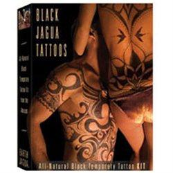 Earth Jagua - Black Temporary Tattoo Kit All Natural