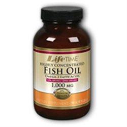 Fish Oil 1000 mg (EPA 300/DHA 200), 90 Softgels, LifeTime