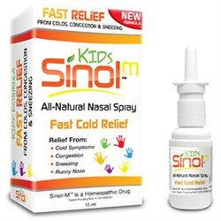 Sinol Kids Fast Cold Relief Nasal Spray