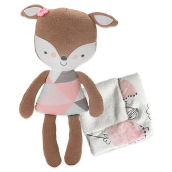 Living Textiles Lolli Living Fiona Deer Softie with Blanket