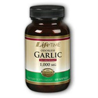 Odorless Garlic 1000 mg, 250 Softgels, LifeTime