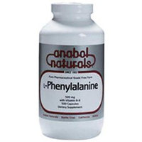 A. Naturals L-Phenylalanine - 500 mg - 100 Capsules