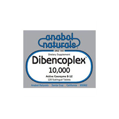 A. Naturals Dibencoplex 10,000 - 10 mg - 120 Capsules