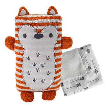 Living Textiles Lolli Living Fox Softie with Blanket