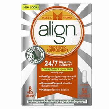 Align Probiotic Supplement Capsules, 56 Count