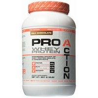 Reaction Nutrition Recor Pro Action Whey Protein, Milk Chocolate, 2 Pound