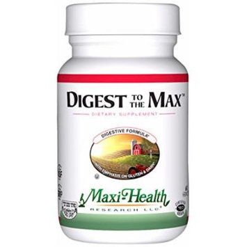 Maxi Health Digest To The Max Digestive Enzymes, 120 Count