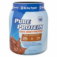 Pure Protein Whey Protein Frosty chocolate - 28 oz