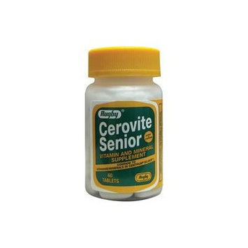 Cerovite Senior 60 Tabs by Rugby