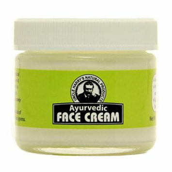 Uncle Harry's Ayurvedic Face Cream (2 Oz Glass Jar)
