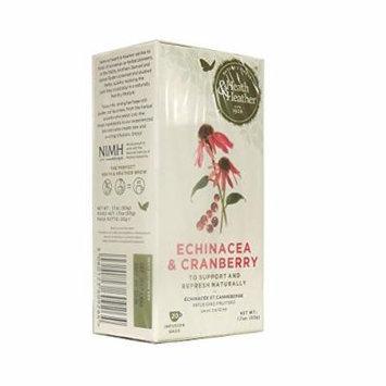 Heath & Heather - Wellbeing - Echinacea & Cranberry - 50g (Case of 12)