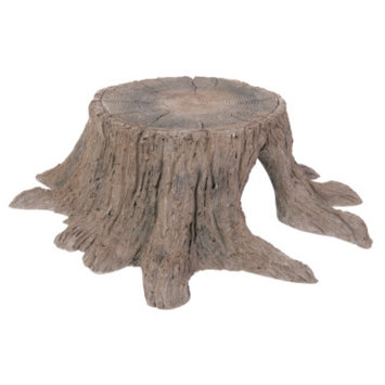 All Living ThingsA Tree Stump Reptile Hideaway