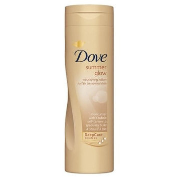 Dove Summer Glow Nourishing Body Lotion Fair To Normal Skin- - Pack Of 4