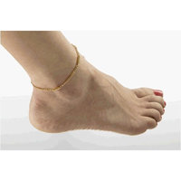 Serenity 2000 Gold Plated Stainless Magnetic Super Anklet Bracelet 10.5