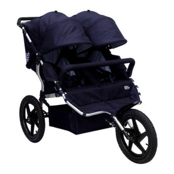 Tike Tech All Terrain X3 Sport Double Stroller - Classic Black