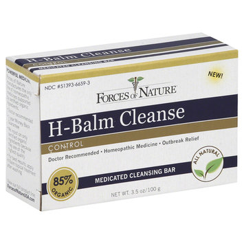 Forces Of Nature Forces of Nature - H-Balm Cleanse Medicated Cleansing Bar - 3.5 oz.