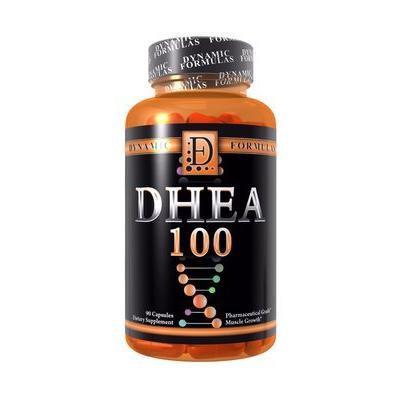 Dynamic Formulas DHEA 100 Pharmaceutical Grade 100mg 90 capsules