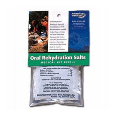ADVENTURE MEDICAL KITS Adventure Medical 0155-0650 Oral Rehydrating Salt