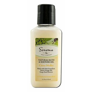 Sonoma Natural Bath and Shower Gel, Citrus Medley, 2.1 Fluid Ounce