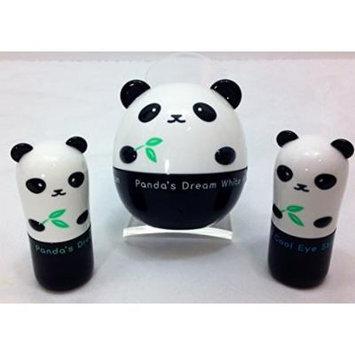 TonyMoly Panda's Dream Hand and Eye Pack (3 Pieces: So Cool Eye Stick, Brightening Eye Base and White Hand Cream)