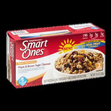 Weight Watchers Smart Ones Maple & Brown Sugar Oatmeal