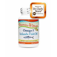 Vitamins Without Omega 3 Fish Oil Supplement, 1000mg, 80 softgels
