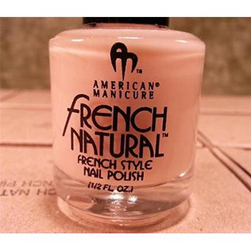 American Manicure French Natural Style Pink Nail Polish .5oz