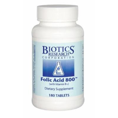 Biotics Research, Folic Acid 800 (180T)