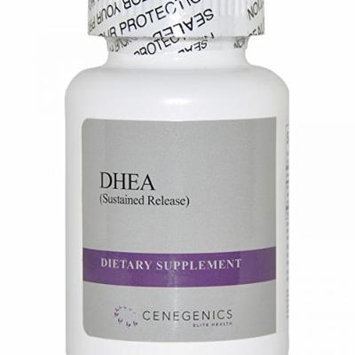 Cenegenics DHEA SR (Sustained Release) 15mg, 30 Count Bottle- Natural Steroid Hormone to Support Immune Function, Brain Function, & Energy Metabolism