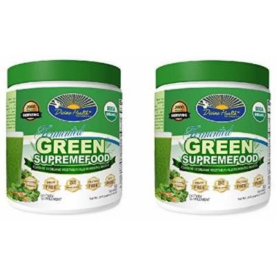 Dr Colbert Divine Health Green Superfood Powder (2 Pack of 30 Serving)