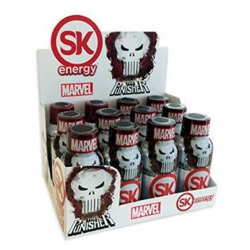 SK Energy Punisher Supplement, Grape Revenge, 2.25 Ounce (Pack of 12)