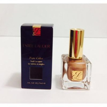 ESTEE Lauder Pure Color Nail Lacquer BURNISHED NUDE -9ml/.3oz