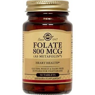 Solgar Folate 800 Mcg ( as Metafolin) 200 Tablets